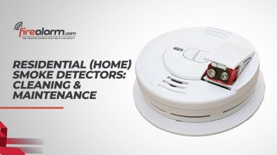 Residential / Home Smoke Detectors: Cleaning & Maintenance