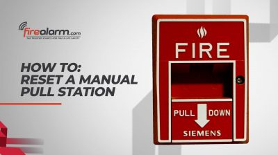 HOW TO: Reset A Fire Alarm Manual Pull Station