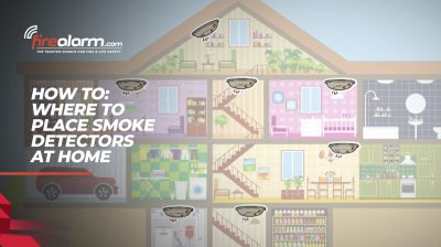 HOW TO: Where To Place Smoke Detectors At Home